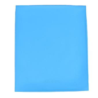 Baking mats liners scandinavian style multifunctional kitchen non stick silicone rollable baking mat blue