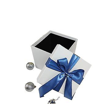 Joululaatikko Joulu lahja koristelu laatikko (valkoinen)