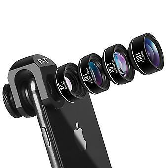 Telefoon camera lens Fisheye groothoek mobiele lenzen voor Iphone mobiele accessoires