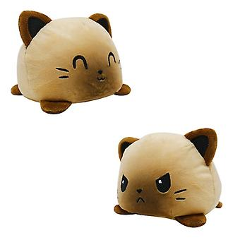 Doppelseitige Flip Angry Cat Puppe