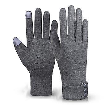 Winter Riding Warm Fleece Gloves Plus Fleece Gloves