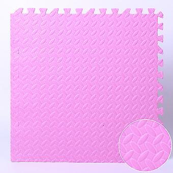 Vaaleanpunaiset vaahtolattiamatot, Vauvan ryömintämatot, Ompelevat lattiamatot, Lasten törmäyssuojamatot