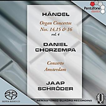 G.F. Handel - H Ndel: Organ Concertos, Vol. 4: Nos. 14, 15 & 16 [SACD] USA import