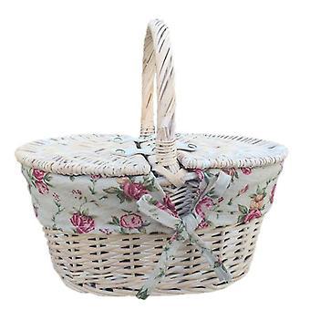 Childs White Wash vakuumiert geschenkband mit Futter Garten-Rose