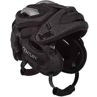 Century Tegu Low-Profile Martial Arts Training Headgear - Black/Gray