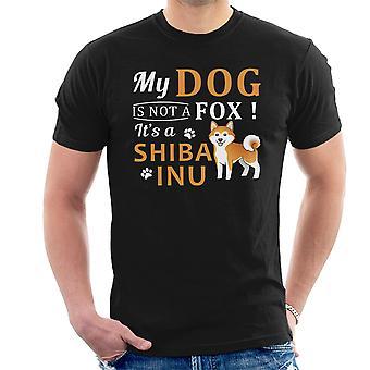 Kutyám van nem egy róka-a egy shiba inu férfiak ' s T-shirt
