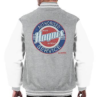 Haynes Buick toegestaan servicecentrum mannen Varsity Jacket