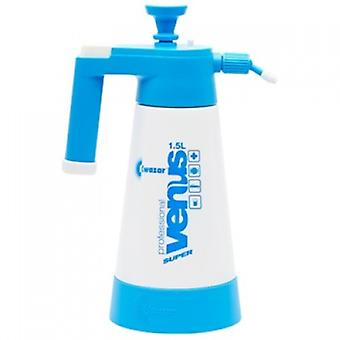 Car Detailing Empty Pressure Pump Sprayer Bottle Kwazar Venus for Cleaning Chemicals in 1.5 L
