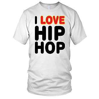 Me encanta el Hip Hop las señoras T Shirt