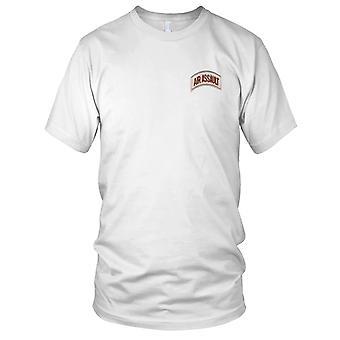 US Army - Air Assault militaire tabblad woestijn Mens T Shirt