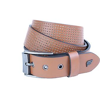 Lowlife Clyde Leather Belt in Tan