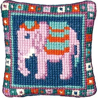 Liten elefant Needlepoint Kit