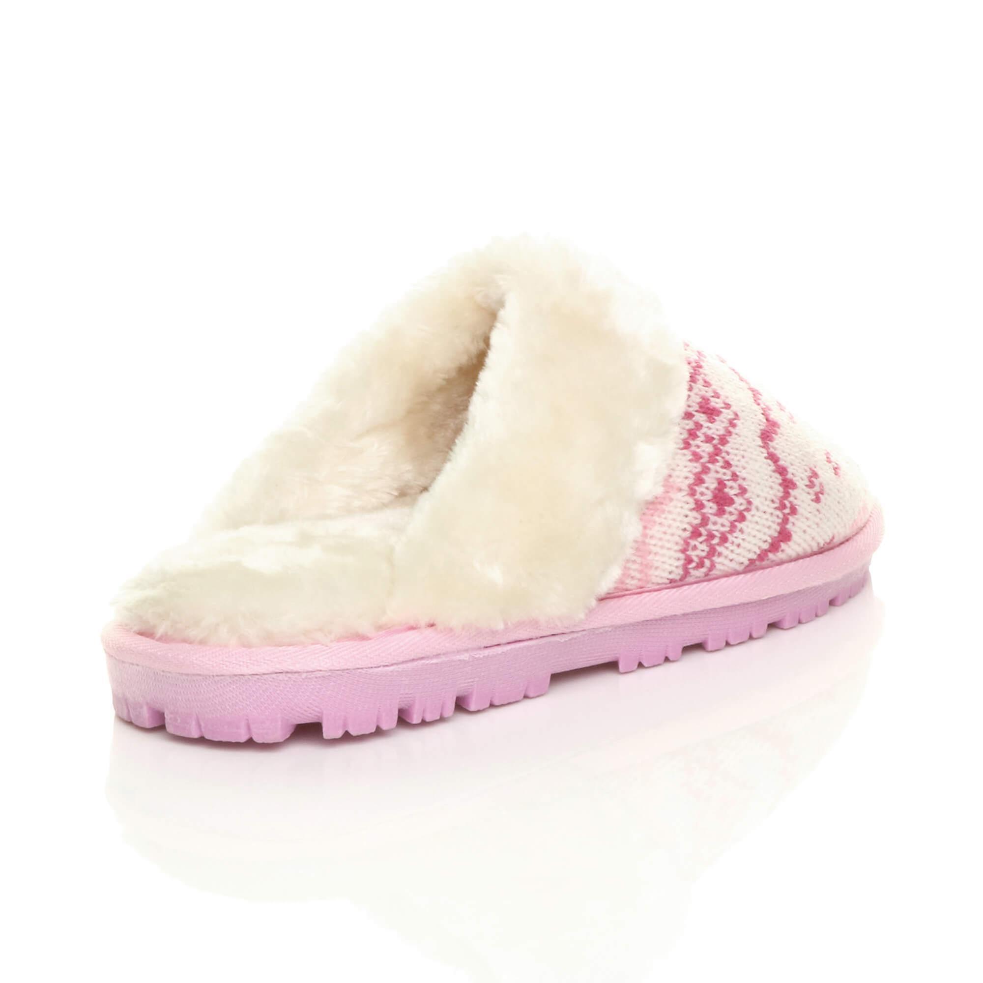 Ajvani damskie zimowe płaskie faux kożuch futro pokryte slip on buty kapcie klapki luksusowych NKq21