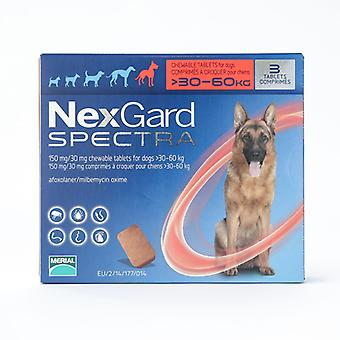 Nexgard Spectra suurin koiraa 30-60kg 6 pakkaus