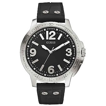 Guess Mens Watch Leather W0064G1