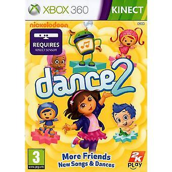 Nickelodeon Dance 2 (Xbox 360) - Factory Sealed