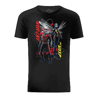 Ant-Man And The Wasp Mens Characters Pose T-Shirt