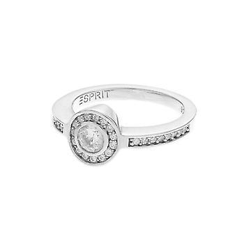 ESPRIT women's ring silver zirconia fame ESRG91744A1