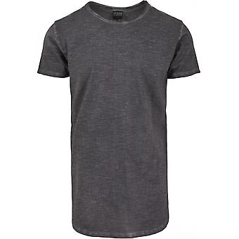 Urban classics T-Shirt Longback shaped spray dye