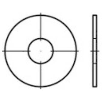 Lokasuoja korjaus aluslevyt 8,4 mm 25 mm Teräs sinkki galvanoitu 200 kpl TOOLCRAFT 159276