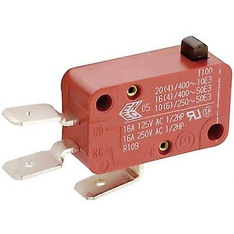 Marquardt-Microswitch 01004.1001-01 250 V AC 8 1 x On/(On) momentane 1 PC