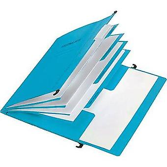 PAGNA Personnel folder 44105-02 No. of compartments:4 Blue 1 pc(s)