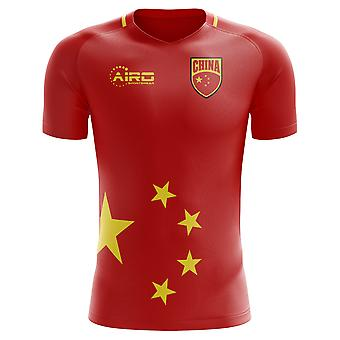 2018-2019 China Home Concept Football Shirt - Adult Long Sleeve