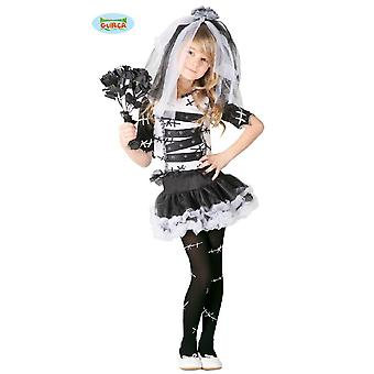 Traje de noiva do monstro para horror de Halloween meninas Brid