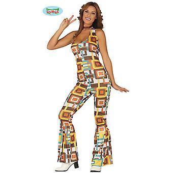 dancing discoteca costume Queen costume tuta donna della discoteca anni 70