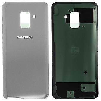 Bostäder del bakkåpa, reservdel för Samsung Galaxy A8 2018 – Grå