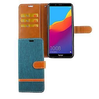 Huawei honor 7C pokrowiec ochronny obudowy Pokrowiec etui zielona karta