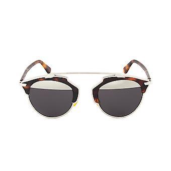 Gafas de sol de Christian Dior SOREAL AOOMD | La Habana/plata marco Gunmetal | Lentes gris