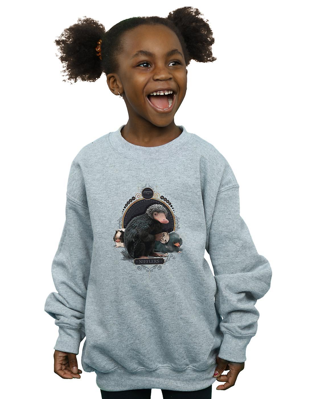 Fantastic Beasts Girls Baby Nifflers Sweatshirt