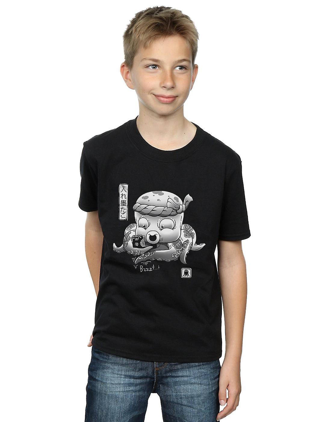 Vincent Trinidad Boys Octopus Ink T-Shirt