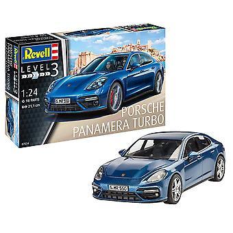 Revell Porsche Panamera 2 Model Kit, 1:24 schaal 21 cm