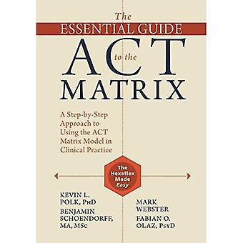 Guide för väsentliga i ACT matrisen: steg för steg att använda ACT Matrix modellen i klinisk praxis