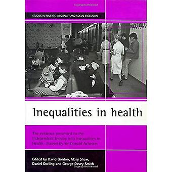Gesundheitliche Ungleichheiten: die Evidenz, die unabhängige Untersuchung der Ungleichheiten im Gesundheitsbereich, unter dem Vorsitz von Sir Donald Acheson