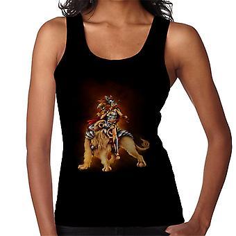 Colete o leão Rider feminino