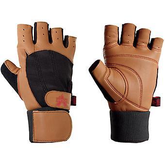 Valeo Ocelot Wrist Wrap Weight Lifting handschoenen - Tan