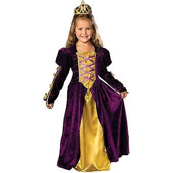 Smukke dronning barn kostume