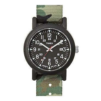 Timex Camper grønn svart ABT503 herreklokke