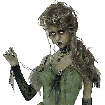 Zombie Lady Peruke Halloween