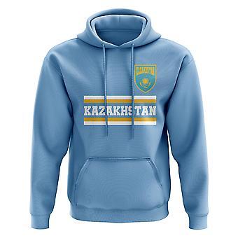 Kazakhstan Core Football pays sweat à capuche (ciel)