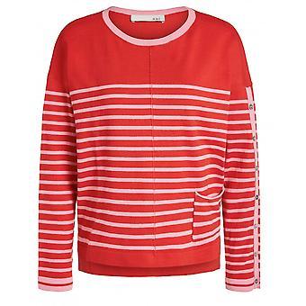 Oui Striped Sweater - 64707