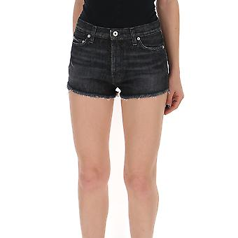 Heron Preston Hwyc002r197530351001 Women's Blue Denim Shorts