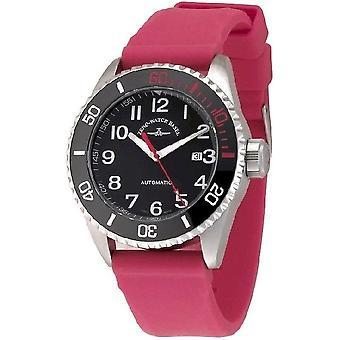 Zeno-Watch Herrenuhr Diver Ceramic Automatic 6492-a1-17