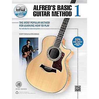 Alfred's Basic Guitar Method - Bk 1 - The Most Popular Method for Lear