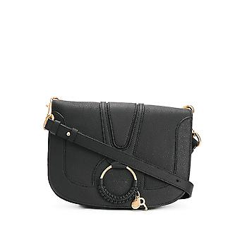 See By Chloé Chs17ss897305001 Women's Black Leather Shoulder Bag