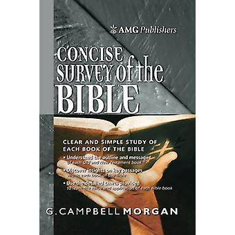 Amg Concise Survey of the Bible by G Campbell Morgan - 9780899575988