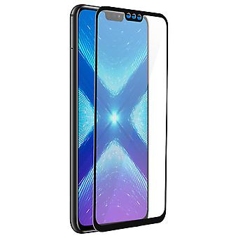 Akashi Honor 8X Tempered Glass Full Screen Protector Ultra-resistant Film Black